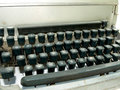 Vintage old type writer Royalty Free Stock Images