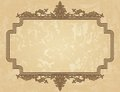 Vintage ornament frame Royalty Free Stock Photo