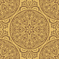Vintage ornamental template with pattern