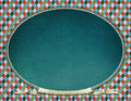 Vintage oval frame Royalty Free Stock Photo