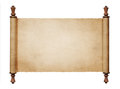 Vintage paper scroll Royalty Free Stock Photo