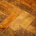 Vintage parquet Royalty Free Stock Photo