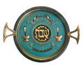 Vintage Passover Sabbath Seder Plate Royalty Free Stock Photo