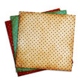 Vintage patterns on white background Royalty Free Stock Photo