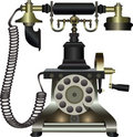 Vintage phone Royalty Free Stock Image