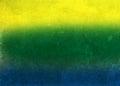 Vintage photo of Brazil flag Royalty Free Stock Photo