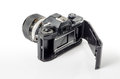Vintage photo camera  :Clipping path included Royalty Free Stock Photo