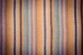 Vintage photo, Striped colorful shawl as background texture Royalty Free Stock Photo