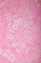 Vintage pink wallpaper with victorian pattern Royalty Free Stock Photo