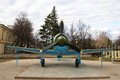 Vintage plane aircraft of the second world war has been in service with the army of the soviet union Royalty Free Stock Images