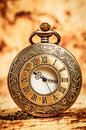 Vintage pocket watch antique Royalty Free Stock Photography