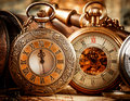 Vintage pocket watch antique Stock Photos