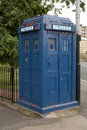 Vintage police box Royalty Free Stock Photography