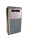 Vintage portable transistor radio Royalty Free Stock Photo