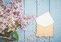 Vintage Postage Envelope With ...