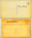 Vintage Postcards Royalty Free Stock Photo