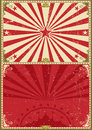 Vintage poster circus background Royalty Free Stock Photo