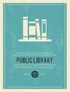 Vintage Poster For Public Libr...