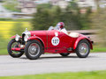 Vintage pre war race car Amilcar CG Royalty Free Stock Images