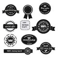 Vintage premium badges set of retro quality and labels Royalty Free Stock Photo