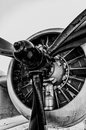 Vintage Propeller Royalty Free Stock Photo