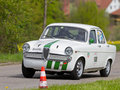 Vintage race touring car Alfa Romeo Stock Photo