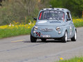 Vintage race touring car Steyr Puch Royalty Free Stock Images