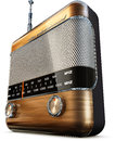 Vintage radio high resolution d rendering of a Royalty Free Stock Photography
