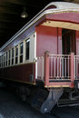 Vintage railcar Stock Images
