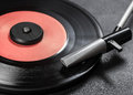 Vintage record player Royalty Free Stock Photo