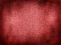 Vintage red fabric texture lines pattern Royalty Free Stock Photography