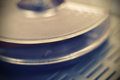 Vintage reel tape recorder Royalty Free Stock Photo