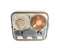 Vintage Reel to reel Tape Recorder Royalty Free Stock Photo