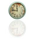Vintage Retro Clock Royalty Free Stock Photo