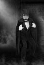 Vintage Evil Villain, Bad Guy Royalty Free Stock Photo