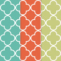 Vintage retro modern seamless pattern Royalty Free Stock Photography