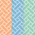 Vintage retro modern seamless pattern Stock Photo