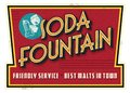 Vintage Retro Soda Fountain Se...
