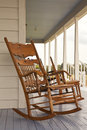 Vintage Rocking Chair Stock Photo