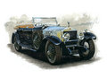 Vintage Rolls Royce Royalty Free Stock Photography