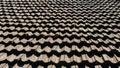 Vintage roof tiling