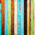 Vintage rough wood plank Royalty Free Stock Photo