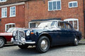 Vintage rover motorcar amersham uk september an iconic l is lined up on the high street alongside other classic vehicles at the Royalty Free Stock Photography