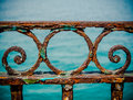 Vintage Rusty Railings