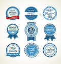 Vintage sale labels collection design elements, Premium quality