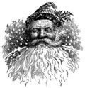 Vintage Santa Illustration