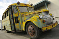 Vintage School Bus Royalty Free Stock Photo