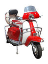 Vintage scooter Stock Images