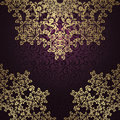 Vintage seamless background with an elegant lace pattern retro design Stock Photography