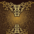 Vintage seamless background elegant lace pattern retro style Royalty Free Stock Images